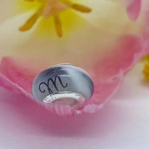 Mini Perle lactée personnalisable compatible Pandora - Bijou au lait maternel
