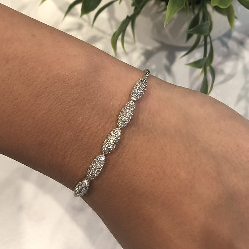 Oval Adjustable Bracelet