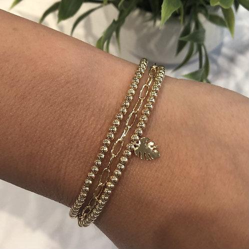 Palm Leaf Bracelet