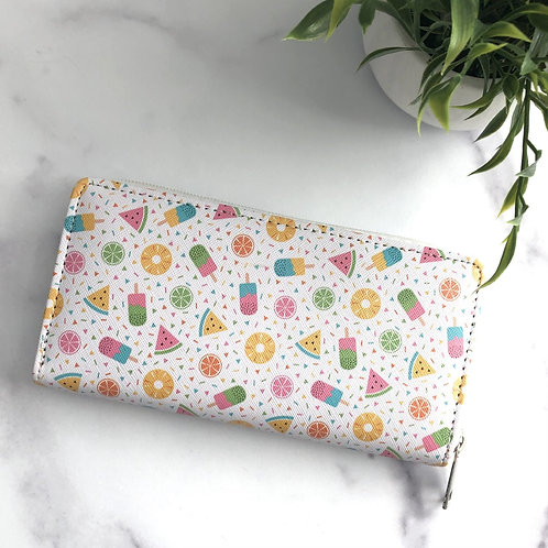 Popsicle Print Wallet