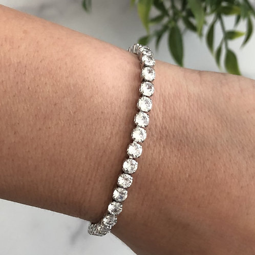 Simple Crystal Bracelet