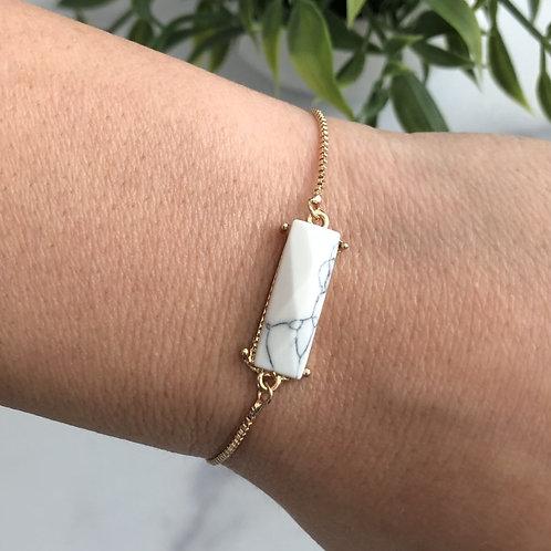 Marble Square Bracelet
