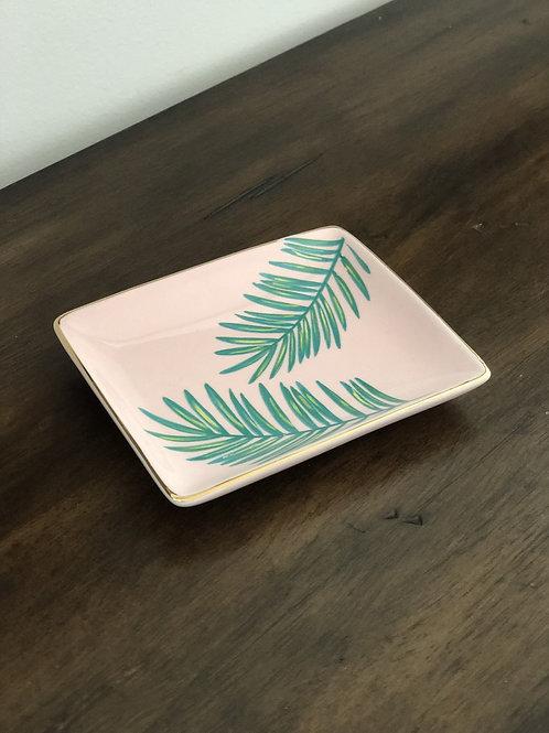Palm Leaf Jewelry Dish