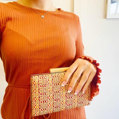 Pink Gold Crossbody Bag