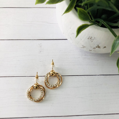 Gold Layered Hoop