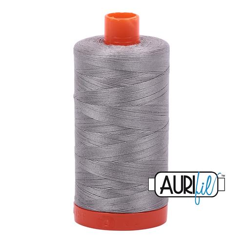 Stainless Steel (2620) - Aurifil 50 Wt Thread