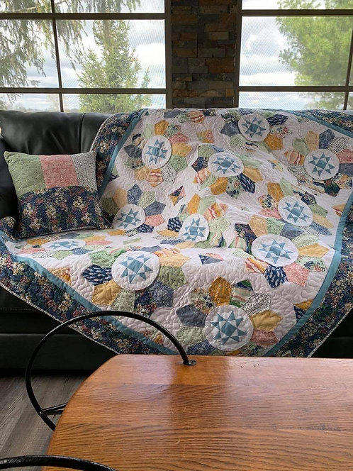 Plain + Fancy Quilt Kit - Rocky Mountain Wild Collection