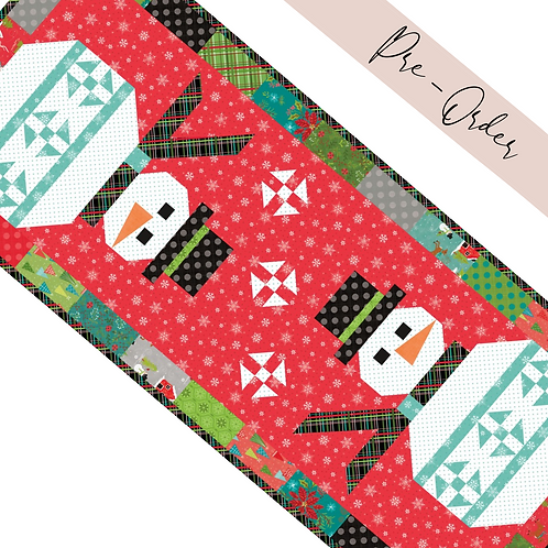 Snowman Table Runner Kit - Snowed In Collection