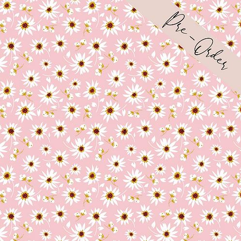 Pink City Bound Yardage - Farm Girls Unite Collection