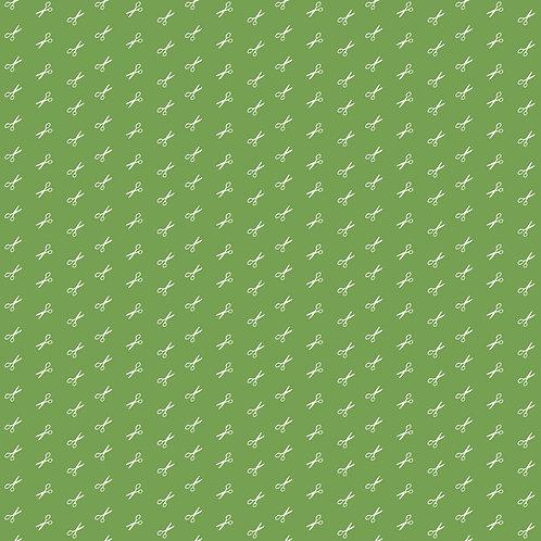 Green Scissors - Bee Basics Yardage