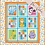 Thumbnail: Colourful Friends Panel Quilt Kit - Colourful Friends Collection