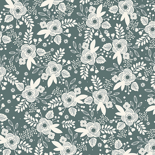 Main Teal Yardage - My Heritage Collection