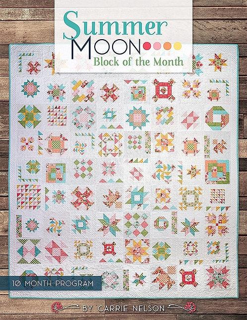 Summer Moon Quilt Book