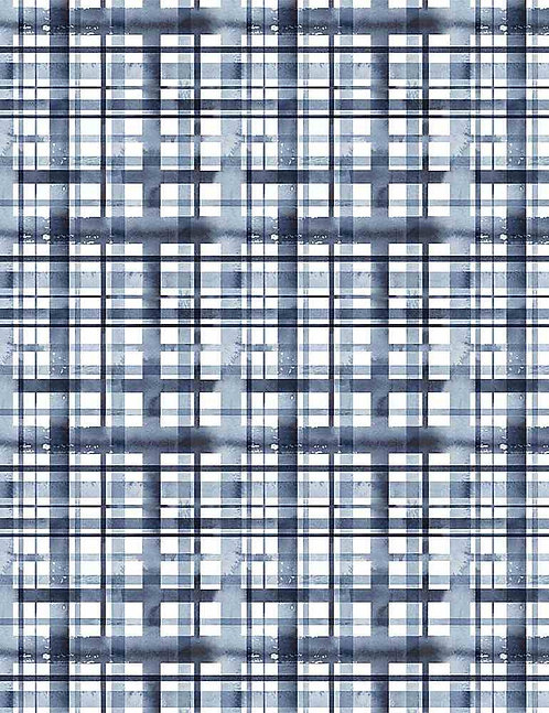 Water Plaid Yardage - Meant to Bee Collection