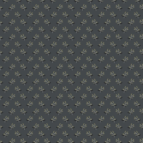 Branches Grey Yardage - My Heritage Collection