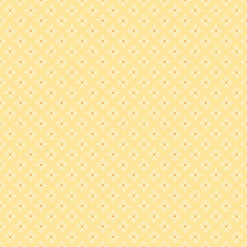 Stitched Yellow Flower - Bee Basics Yardage
