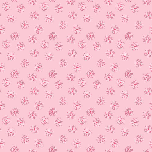 Pink Blossom - Bee Basics Yardage