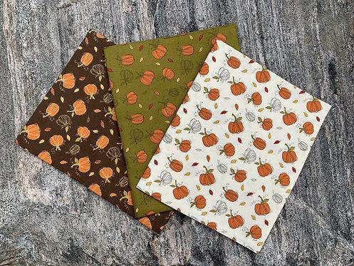 Pumpkins - Adel in Autumn 1 Yard Cut