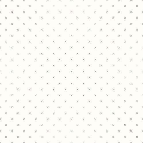 Gray Crossstitch - Bee Basics Yardage