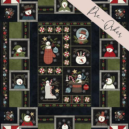 Snowdays Flannel Quilt Kit - Snow Days Flannel Collection