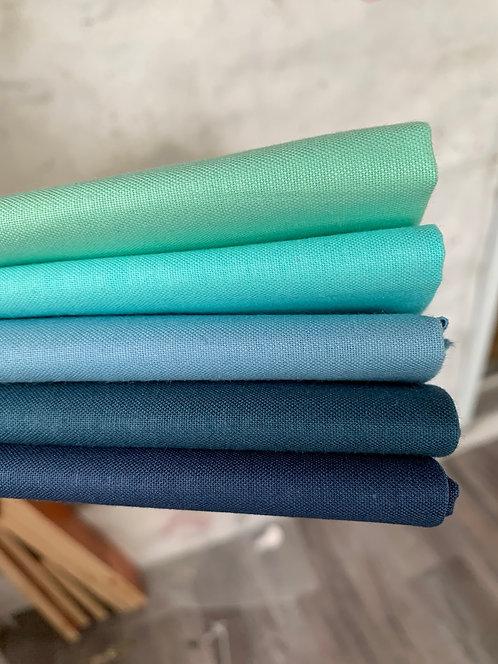 Confetti Cotton Fat Quarters - Blues