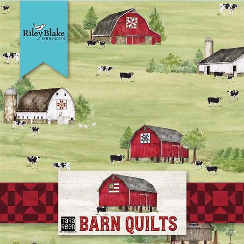 Barn Quilts 14 pieces fat quarters
