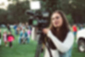 selective-focus-photo-of-a-woman-using-v