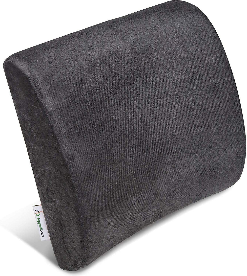 back support cushion memory foam pillow