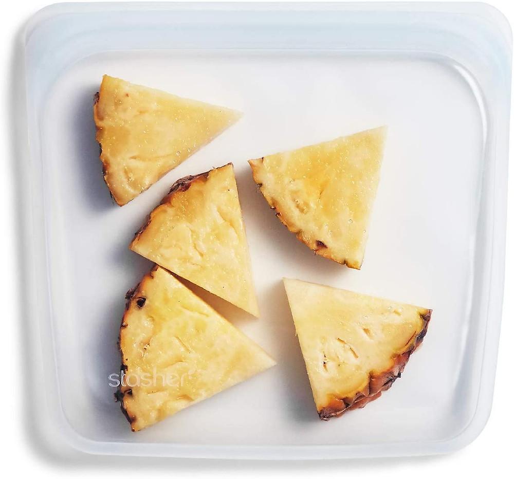 silicone reusable sandwich bag