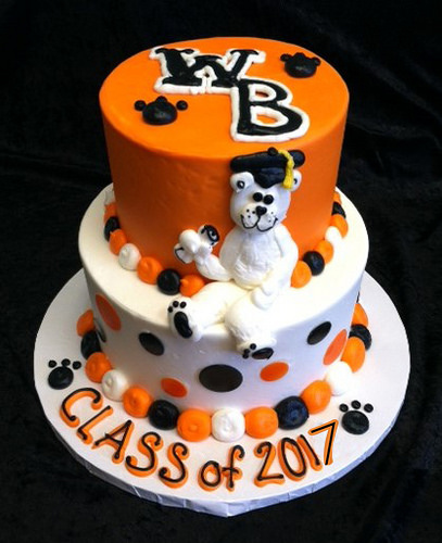 GB-117 Tiered WBL Grad Cake