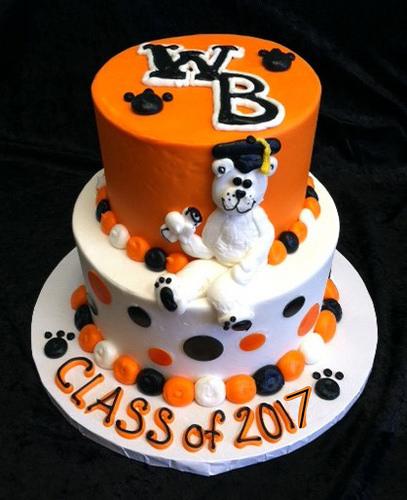 GB-117 Tiered WBL Grad Cake