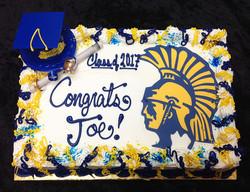 G-804 School logo cake