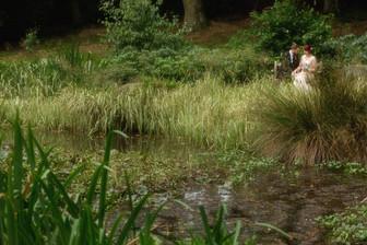 Whirlowbrook Hall wedding couple