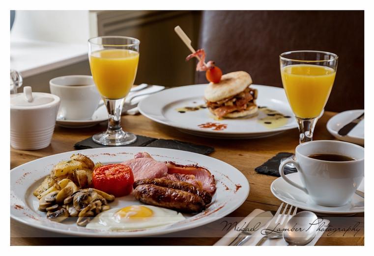 The Coach House Brecon Breakfast
