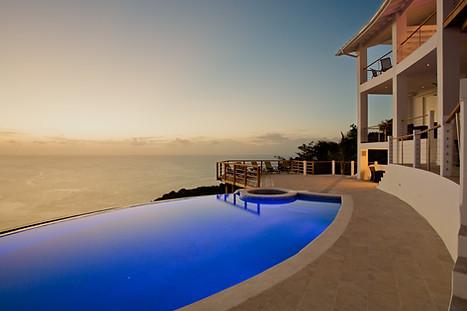 Twilight Photograph St Lucia