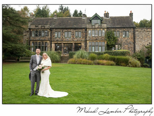 The wedding of Sam & Marc at Whirlowbrook Hall, Sheffield.