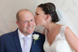 Bride and Father Images