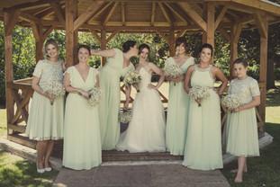 Bride and Bridesmaids Photographer