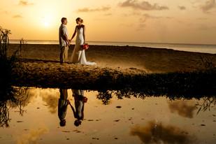 Sunset Wedding St Lucia