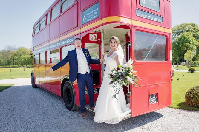 Wedding bus image