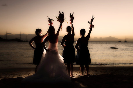 Wedding Photography Sunset St Lucia