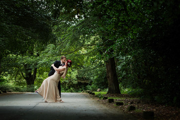 Whirlowbrook Hall wedding couple