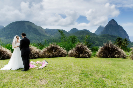 Wedding by the Piton