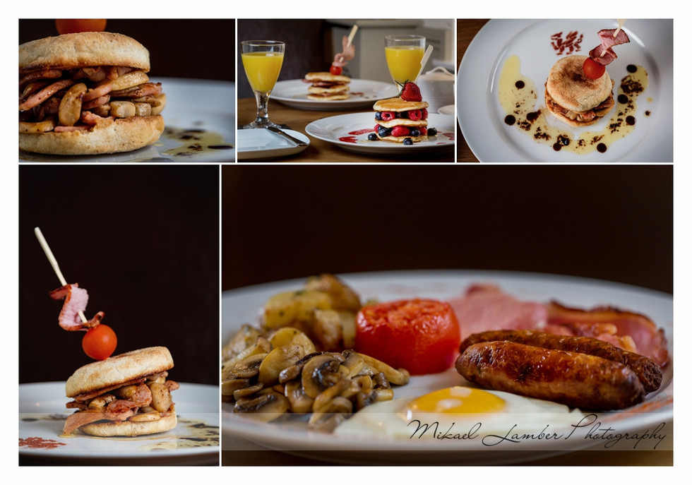 B&B Breakfast Photographer Sheffield