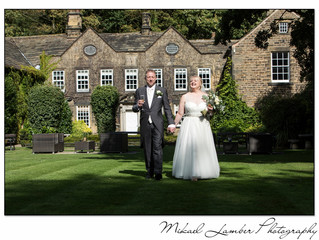 The wedding of Jane & Dave at Whitley Hall.