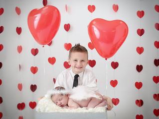 Valentine's Day photo session