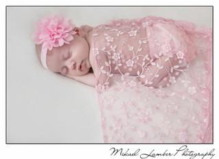 Newborn images of Nancy