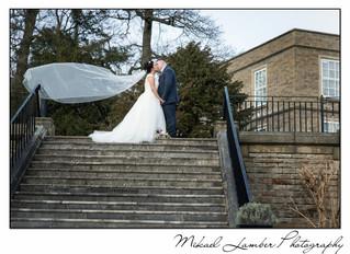 Alex & Ricky's wedding Ringwood Hall