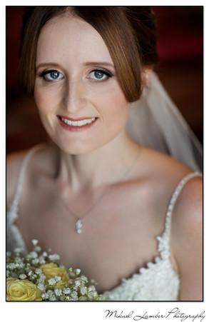 Bride portrait Farrington Lodge Hotel