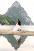 Wedding by the Piton St Lucia